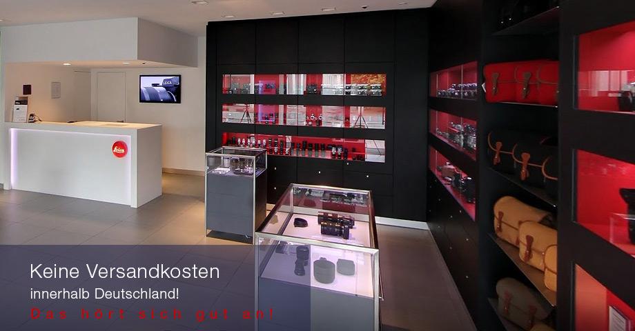 Versandkosten Leica Store München